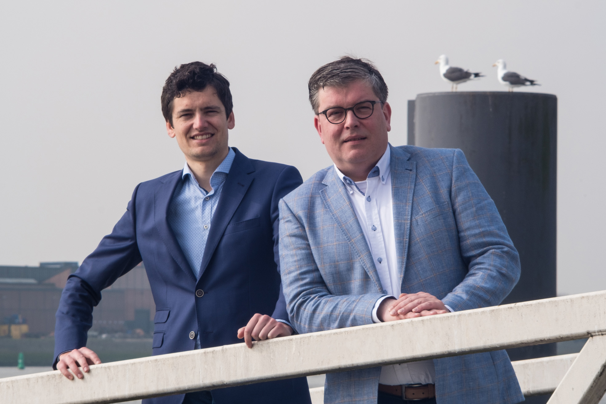 Pieter-Jan Lukas en Peter de Looze