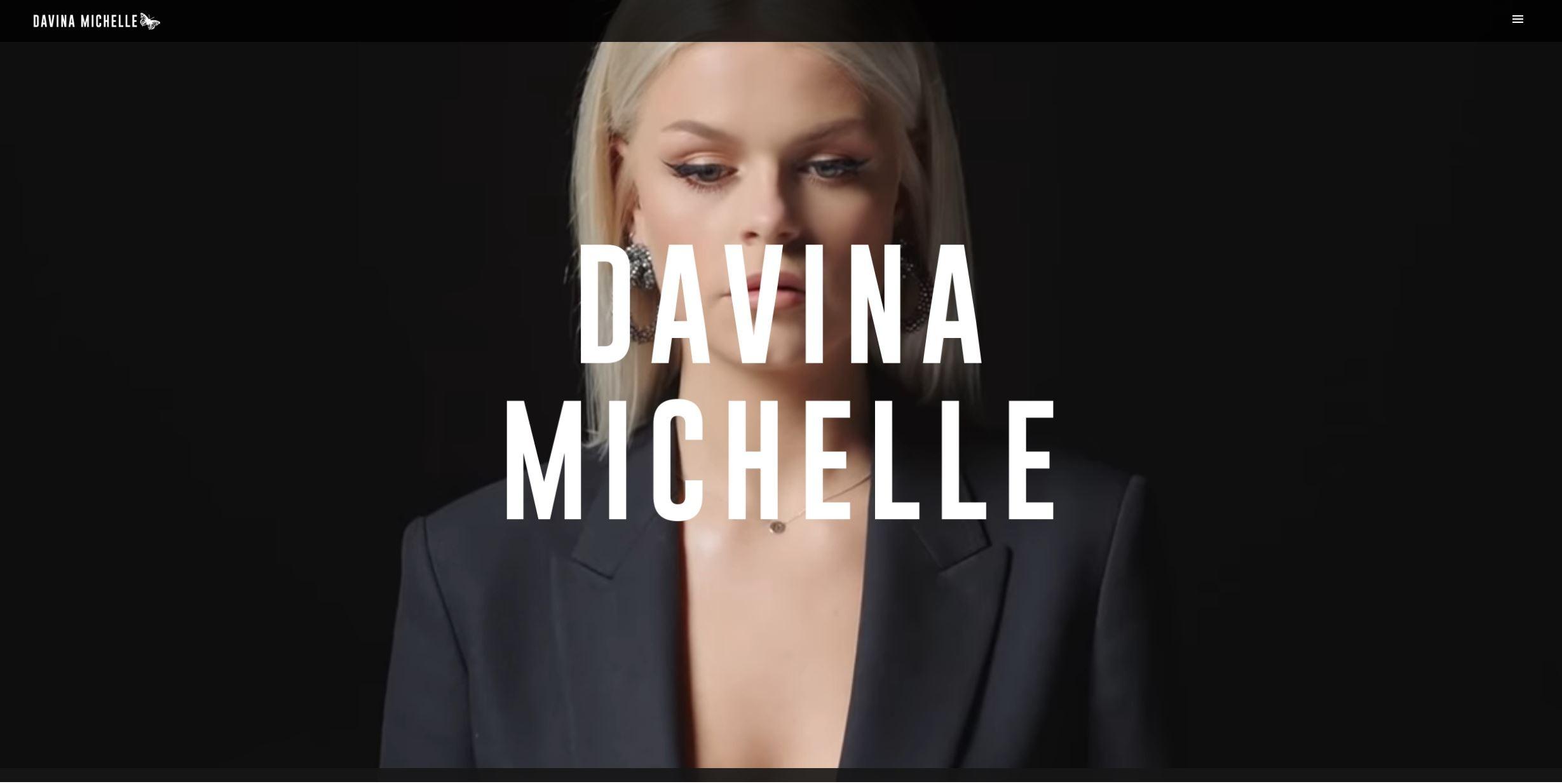 Website Davina Michelle